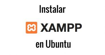 instalar xampp ubuntu