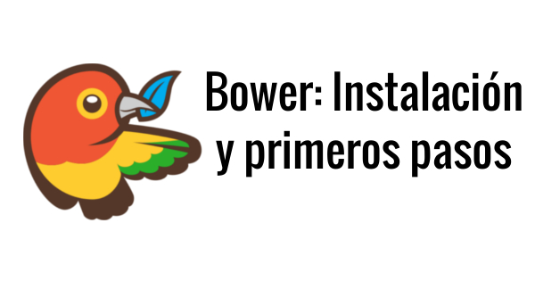 Bower: instalacion y primeros pasos