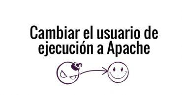Cambiar usuario a apache